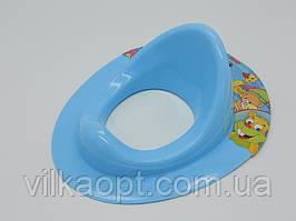 Детская накладка-сиденье на унитаз пластиковое Сидение для унитаза Накладка на унитаз для детей 38,5 * 31 cm