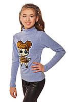 Гольф на дівчинку з нашивкою 134-152 р