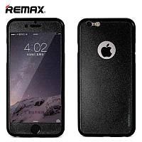 Чехол для iPhone 6/6s - Remax Pericarp (защитное стекло в комплекте)
