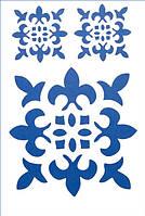Трафарет пластиковый арт.ST006 22х31 см Восточный орнамент