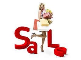 Розпродаж%, жіночий одяг