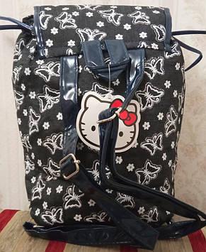 Дитячий рюкзак-мішок з білими принтами, фото 2