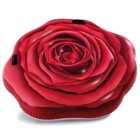 """Пляжний Матрац """"Троянда"""" Intex 58783"""