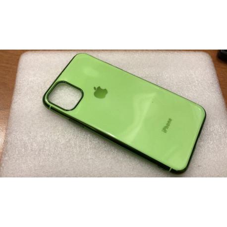 Силиконовый чехол Apple на iPhone 11 Pro Max Зеленый