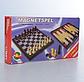 Шашки, шахи, нарди 3 в 1, в коробці 1818, фото 2