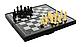 Шашки, шахи, нарди 3 в 1, в коробці 1818, фото 4