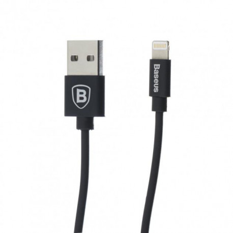 Кабель Baseus CALIGHTNG-EL01 Lightning-USB Black (EL01)
