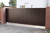 Производство откатных ворот