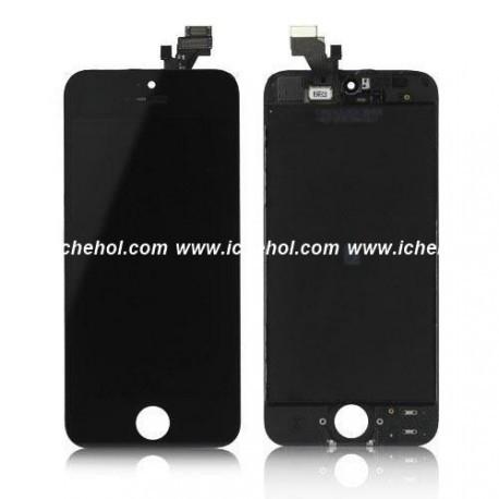Екран копія для iPhone 5C (скло+тач) Чорний