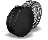 Чехол защитный для запасного колеса Beltex R14-R15 M / Ø64x21 см / Черный