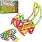 """Магнитный конструктор, конструктор для детей """" Животные"""", в коробке, LT2002, на 89 детали, фото 2"""
