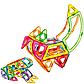 """Магнитный конструктор, конструктор для детей """" Животные"""", в коробке, LT2002, на 89 детали, фото 3"""