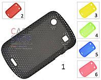 Пластиковый чехол в сеточку для 9900 BlackBerry Bold