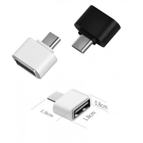 Перехідник c USB OTG на Microusb