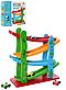 Дерев'яна іграшка для малюків Трек MD 2688, висота 28 см, 4 машинки, фото 2