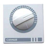 CEWAL RQ01 комнатный термостат воздуха настенный механический для отопления и охлаждения.