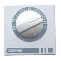 CEWAL RQ01 комнатный термостат воздуха настенный механический для отопления и охлаждения., фото 1