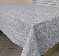 Лляна скатертина р. 120*150 на кухонний стіл N-820