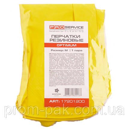 Перчатки резиновые Pro service Optimum, фото 2
