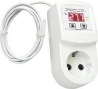 Терморегулятор цифровой для обогревателей  РТ-16/П01-К