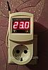 МТР-2 16А терморегулятор воздуха розеточный цифровой с заземлением универсальный.