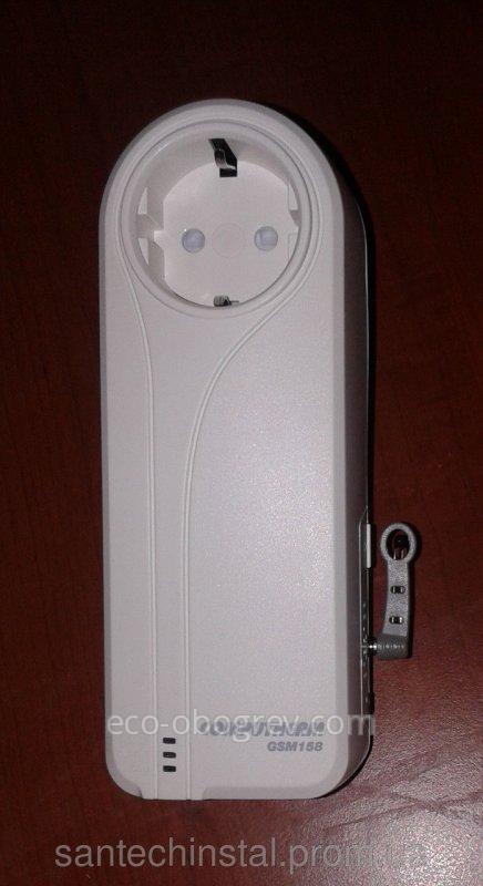 GSM- розетка с дистанционным  управлением COMPUTHERM GSM158