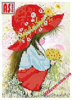 """Схема для вышивки бисером """"Красная шапочка"""" 11,5*17 см"""