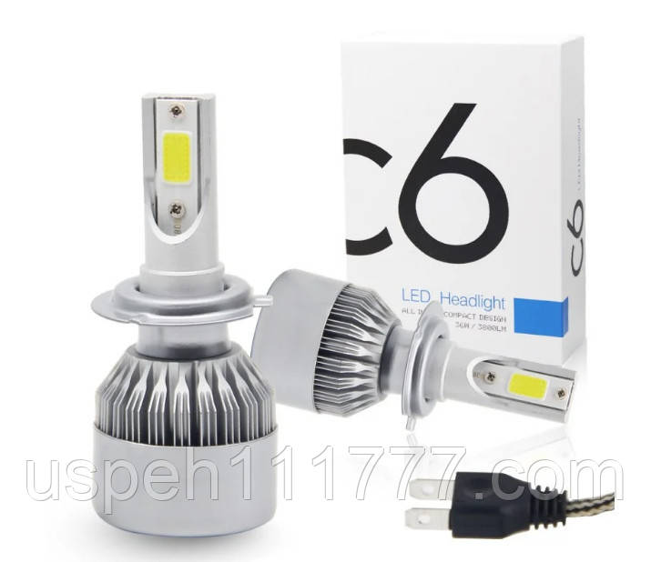 Led лампи автомобільні H7 C6 (2 шт. комплект)