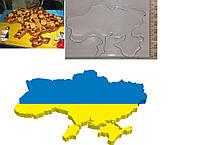 Вырубка для пряника карта Украины
