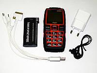 Телефон Land Rover AK8000 Оранжевый Противоударный (2sim, мощная батарея 5000 mAh, фонарик), фото 1