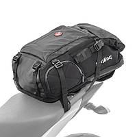 Мотоциклетный рюкзак Bagtecs HX5, водонепроницаемая задняя сумка 45л с держателем для шлема