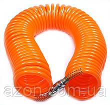 Шланг повітряний спіральний 10м. AIR-10M Technics Orange