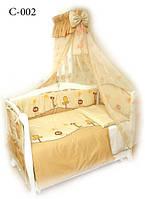 Детская постель Twins Comfort (8 элем.) С-002