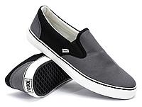 Слипоны Revol Grey-Black