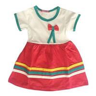 Платье хлопок для садика 1,2,3,4 года Турция