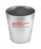 Форма для выпечки кулича (паски) алюминиевая 1,8л (d-14,5см, h-16см) БИОЛ ФК04