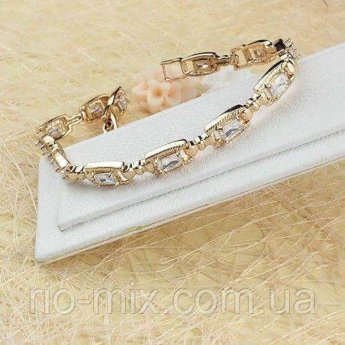 Красивый браслет с камнями 005-0398
