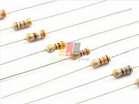 Резистор (+/-5%) 0,25Вт        220 Ом