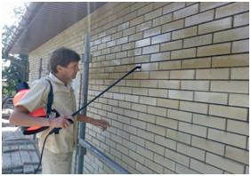 Материалы для очистки, защиты и реставрации фасадов