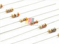 Резистор (+/-5%) 0,25Вт        510 Ом