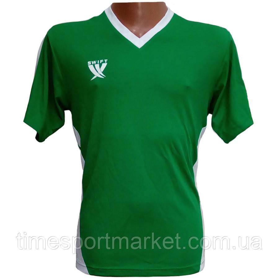 Футболка футбольна SWIFT 2 Flor Tactel (зелено/біла) L р.