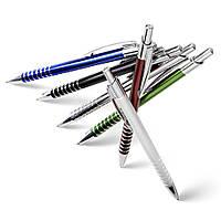 Ручки шариковые металлические, многоразовые под нанесение корпоративной символики, логотипа