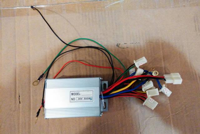 Блок электронного управления Profi 36V 500W для детского электро квадроцикла, фото 2