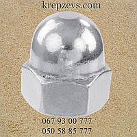 DIN 1587 гайка колпачковая М16 ГОСТ 11860-85 шестигранная
