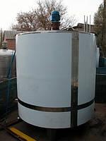 Резервуар для хранения молока, термос, н/ж сталь ОМВ-6 (6 м³/ч)