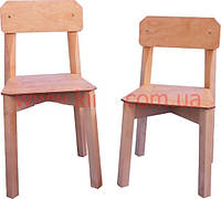 Детский стульчик КИНД  №2 классический ( береза, от 100-145 см)