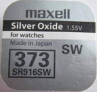 Батарейка для часов MAXELL 373 SR916 Япония