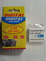 Аккумулятор для фото- видеокамеры Sony NP-BN1   630mAh