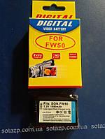 Аккумулятор для фото- видеокамеры Sony NP-FW50   1080mAh