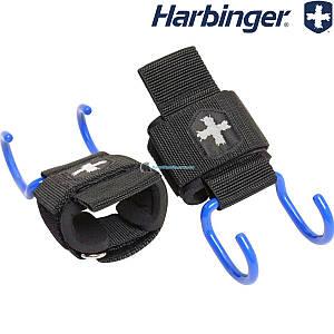 Крюки для тяги на запястья HARBINGER 21900 пара